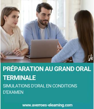 Préparez-vous au Grand Oral avec Averroès e-learning