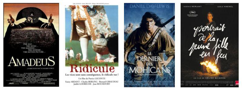Explorer le 18e siècle avec le cinéma