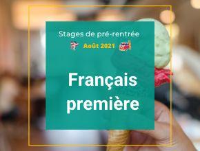 Stages de pré-rentrée français première Averroès e-learning